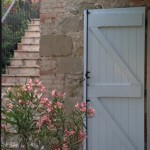 Door by external staircase