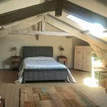 Attic double bed room, 2020